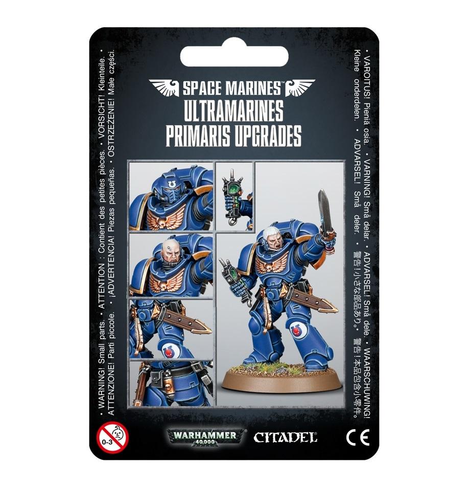 Warhammer 40,000 : Ultramarines Primaris Upgrades image