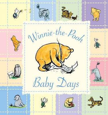 Winnie the Pooh Baby Days - Record Book