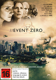 Event Zero on DVD image