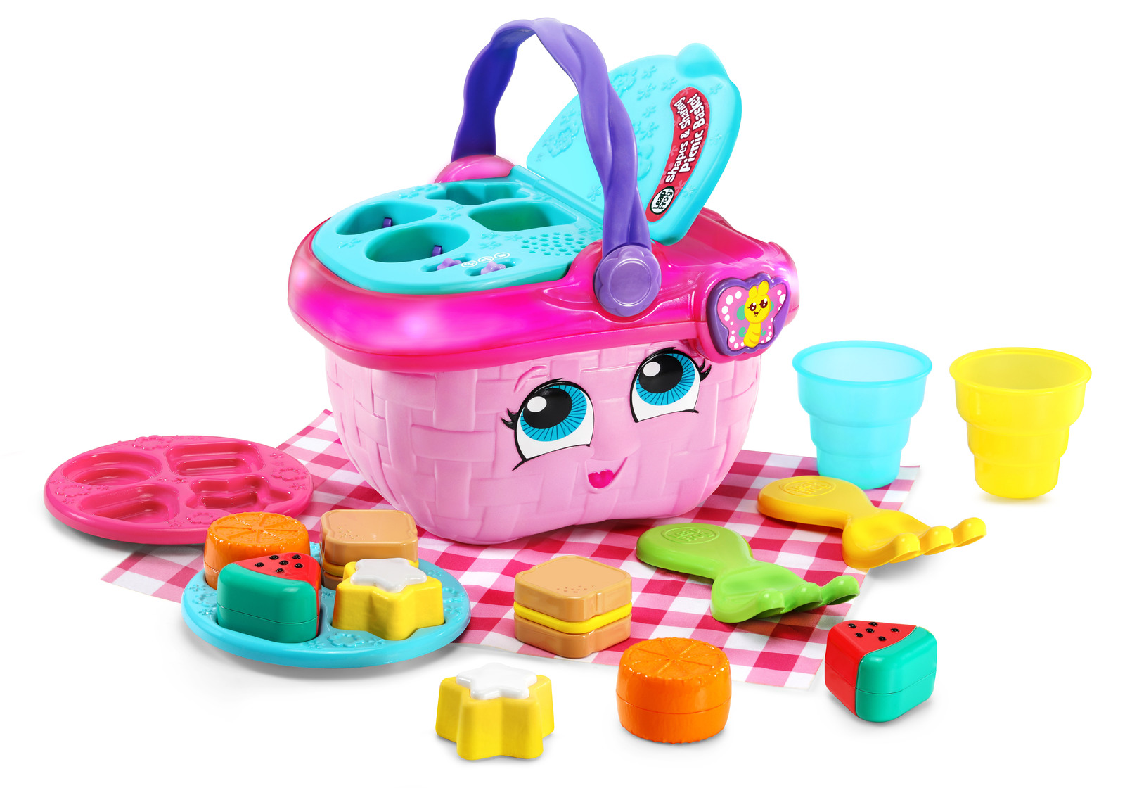 Leapfrog: Shapes & Sharing - Picnic Basket image