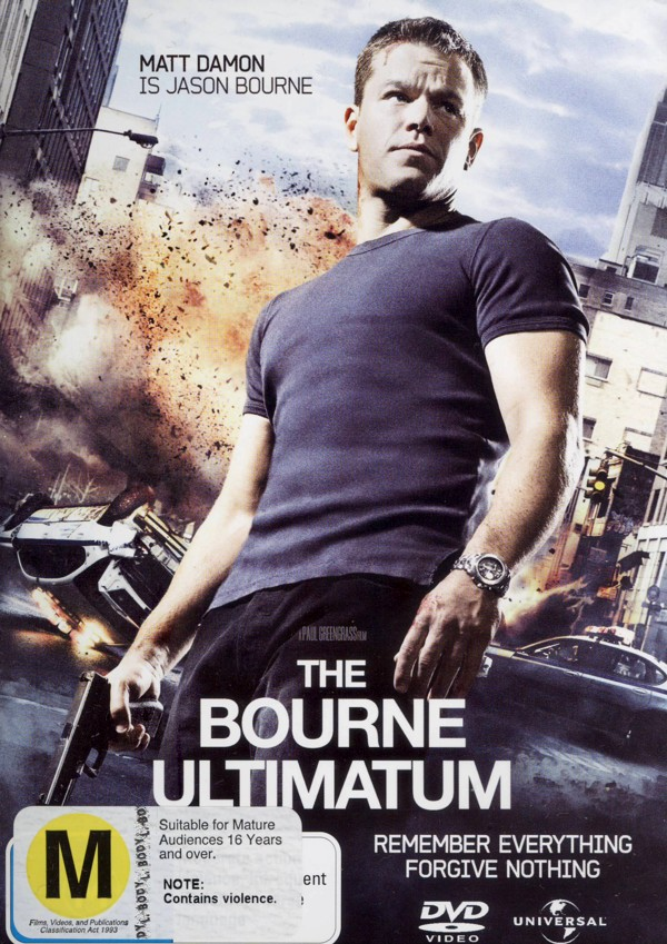The Bourne Ultimatum on DVD image