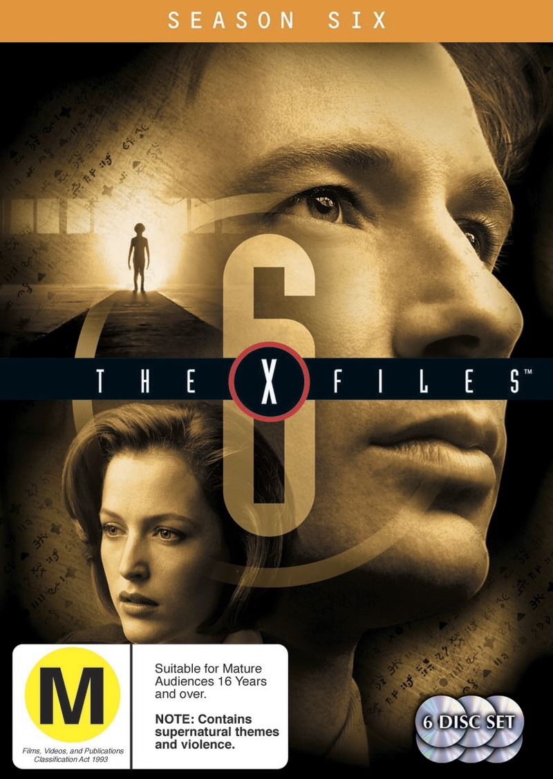 The X-Files - Season 6 (6 Disc Set) on DVD image