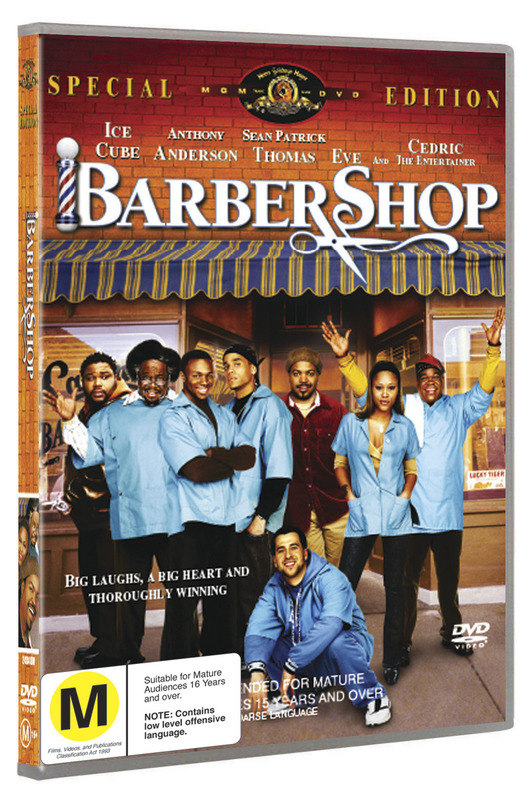 Barbershop on DVD