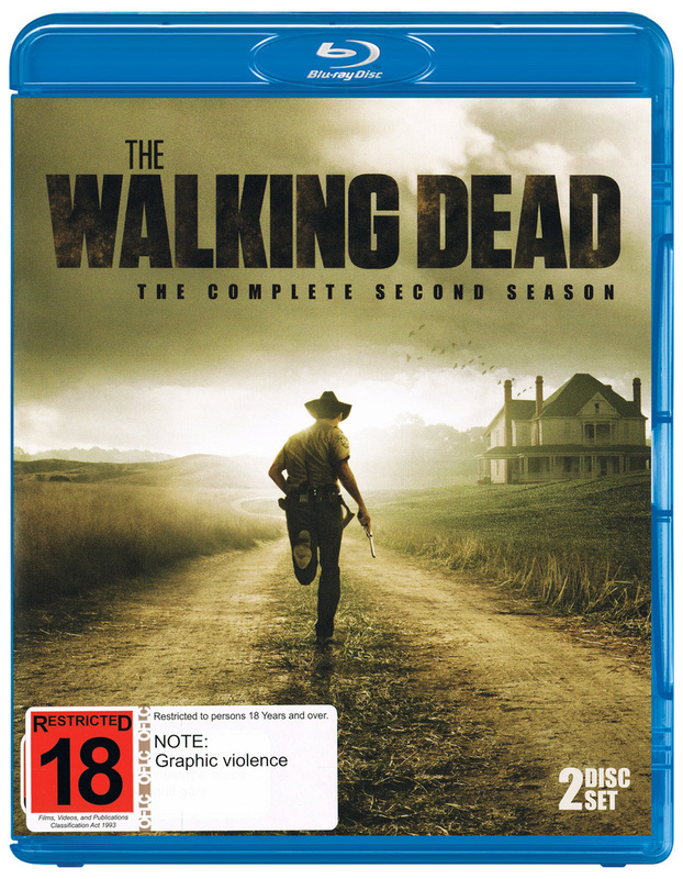 The Walking Dead Season 2 Blu Ray On Sale Now At
