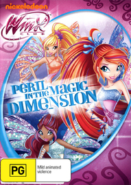 Winx Club: Peril in the Magic Dimension on DVD