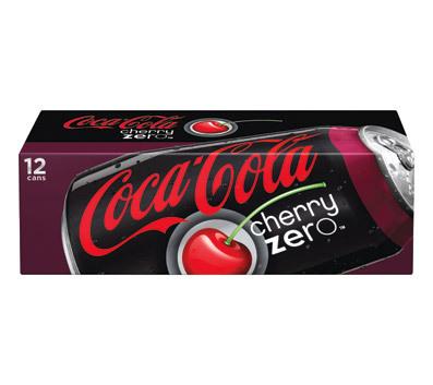 Coca-Cola Cherry Zero (330ml) image