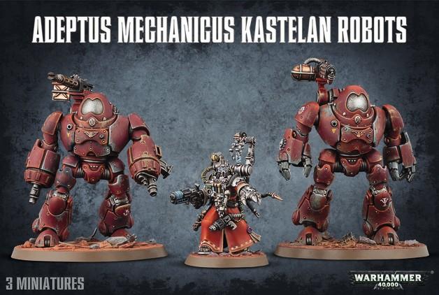 Warhammer 40,000 Adeptus Mechanicus Kastelan Robots