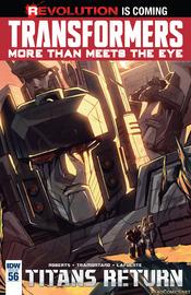 Transformers Titans Return by Mairghread Scott