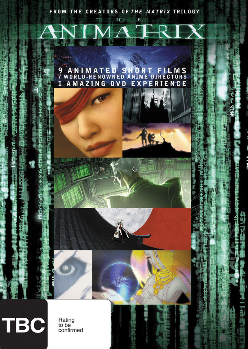 Animatrix on DVD image