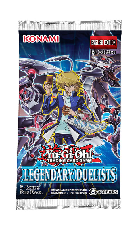 Yu-Gi-Oh! Legendary Duelists Single Booster (5 cards)