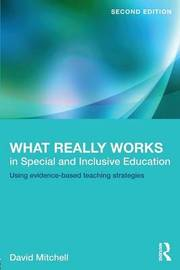 What Really Works in Special and Inclusive Education by David Mitchell image