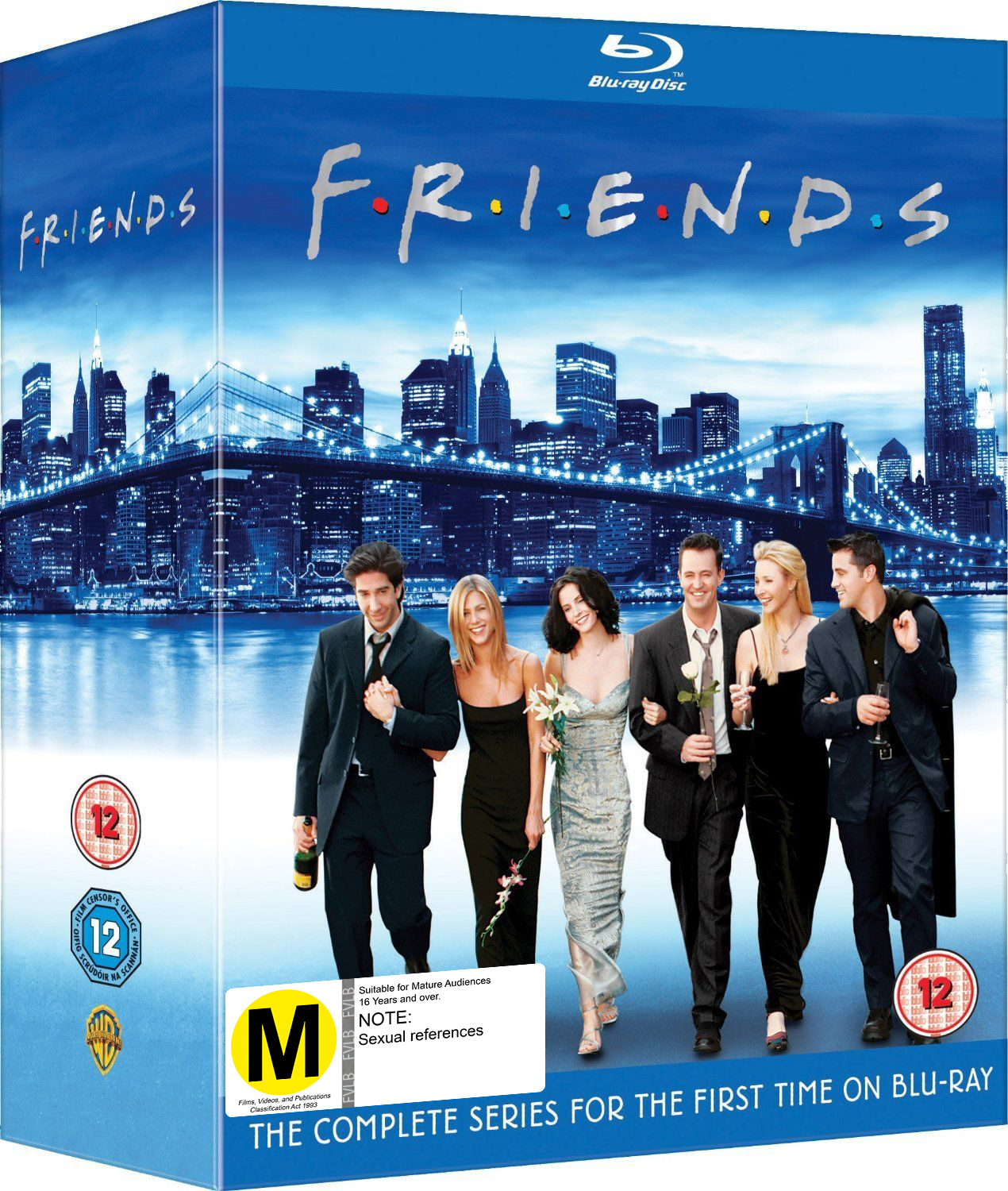 Friends - The Complete Series 1 - 10 on Blu-ray image