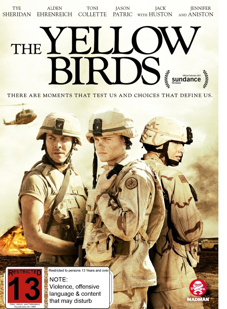 The Yellow Birds on DVD image