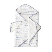 Little Unicorn - Hooded Towel & Wash Cloth - High Tide image