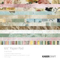 Kaisercraft: Scrap Studio Paper Pad (6.5x6.5)