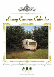 Luxury Caravan Calendar 2009 by David Boxshall image
