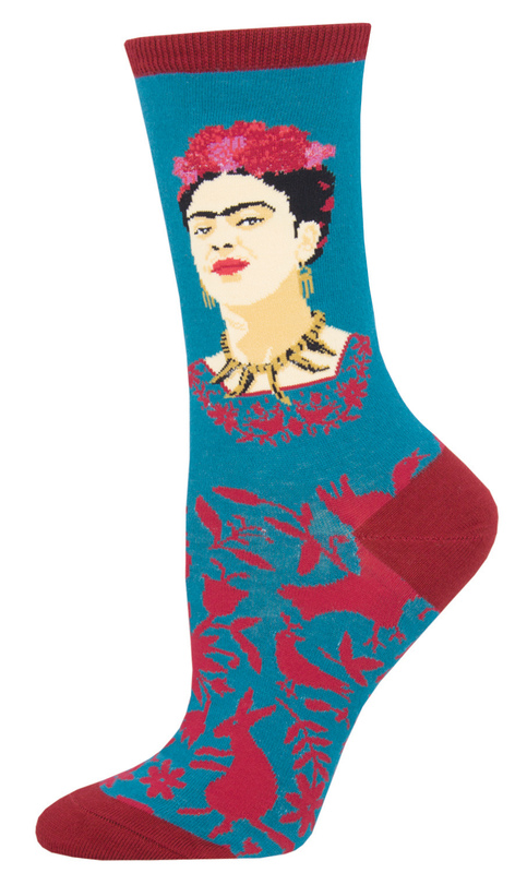 Socksmith: Womens Fearless Frida - Teal