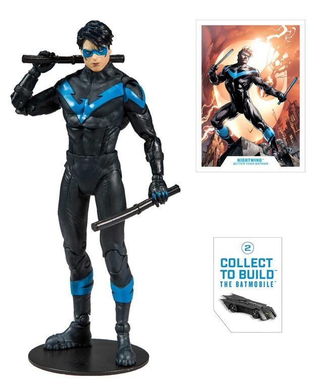 "DC Multiverse: Nightwing (Better Than Batman) - 7"" Build-A-Figure"