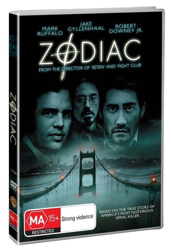 Zodiac on DVD
