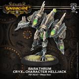 Warmachine: Cryx - Barathrum Character Helljack