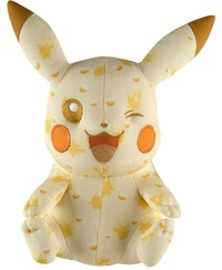 Pokémon: Anniversary Edition - Pikachu Wink Plush