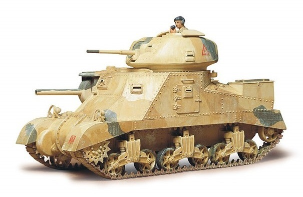 Tamiya 1/35 British M3 Grant Tank - Model Kit image