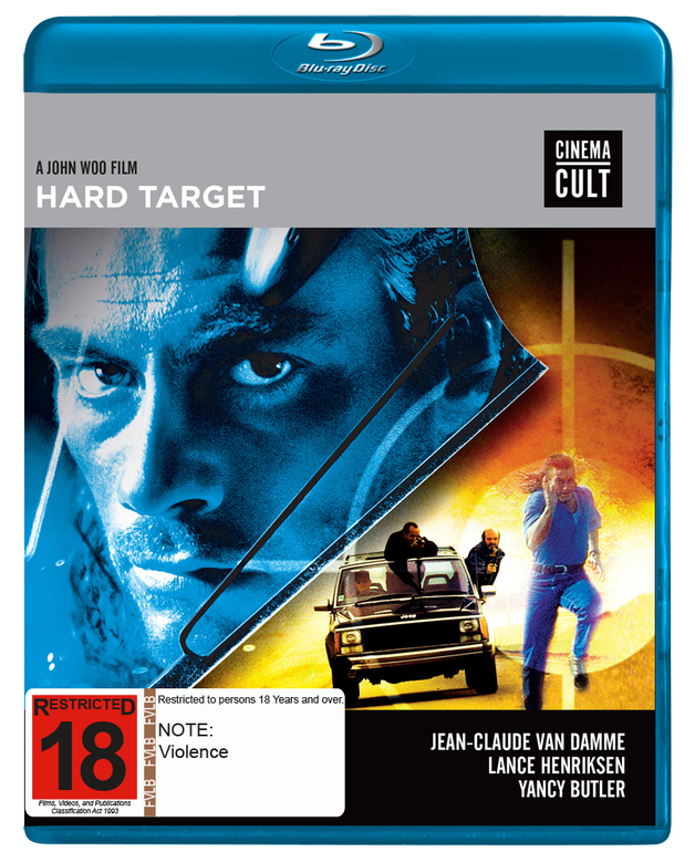 Hard Target on Blu-ray