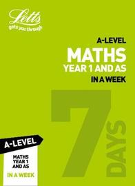A -level Maths Year 1 (and AS) In a Week by Collins image