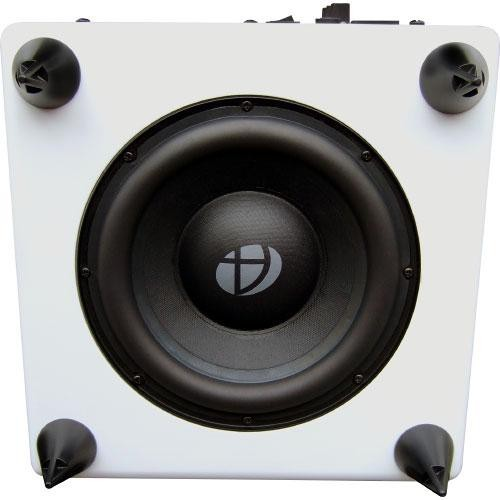 Audioengine: S8 Powered Subwoofer - Hi-Gloss White image