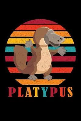 Platypus Retro Sunset by Platypus Duck Billed Journal