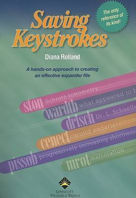 Saving Keystrokes by Diana Rolland