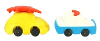 Erasables: Cars Eraser Set - Small