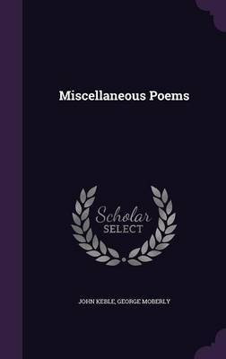 Miscellaneous Poems by John Keble image