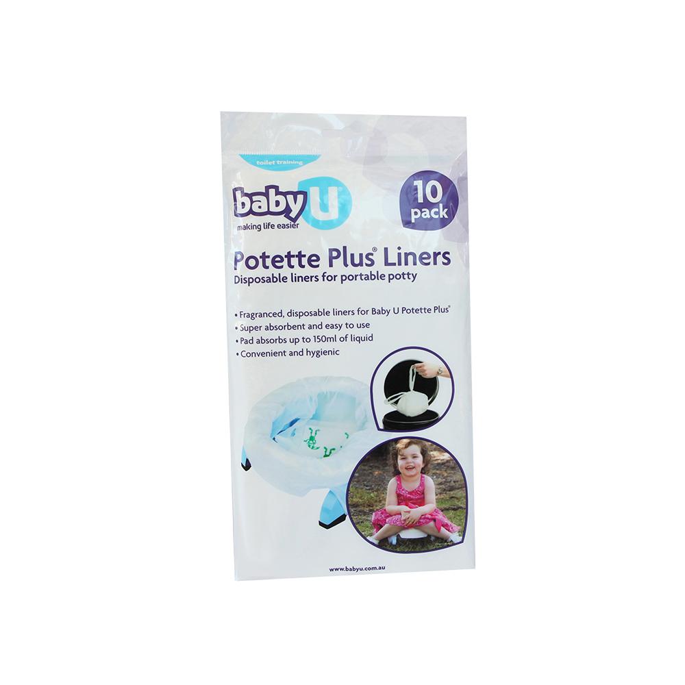 Baby U Potette Plus Liners (10pk) image