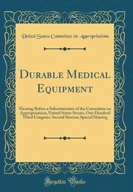 Durable Medical Equipment by United States Committee Appropriations image