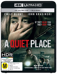 A Quiet Place on UHD Blu-ray
