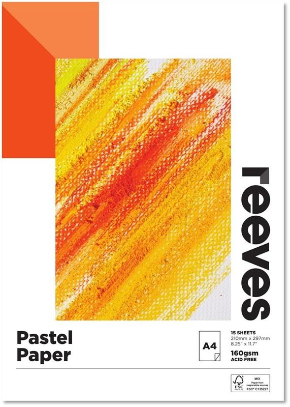 Reeves: Pastel Pad - A4