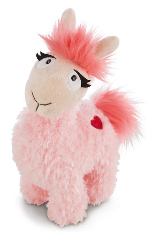 Nici: Llama Love (Pink) - 23cm Plush