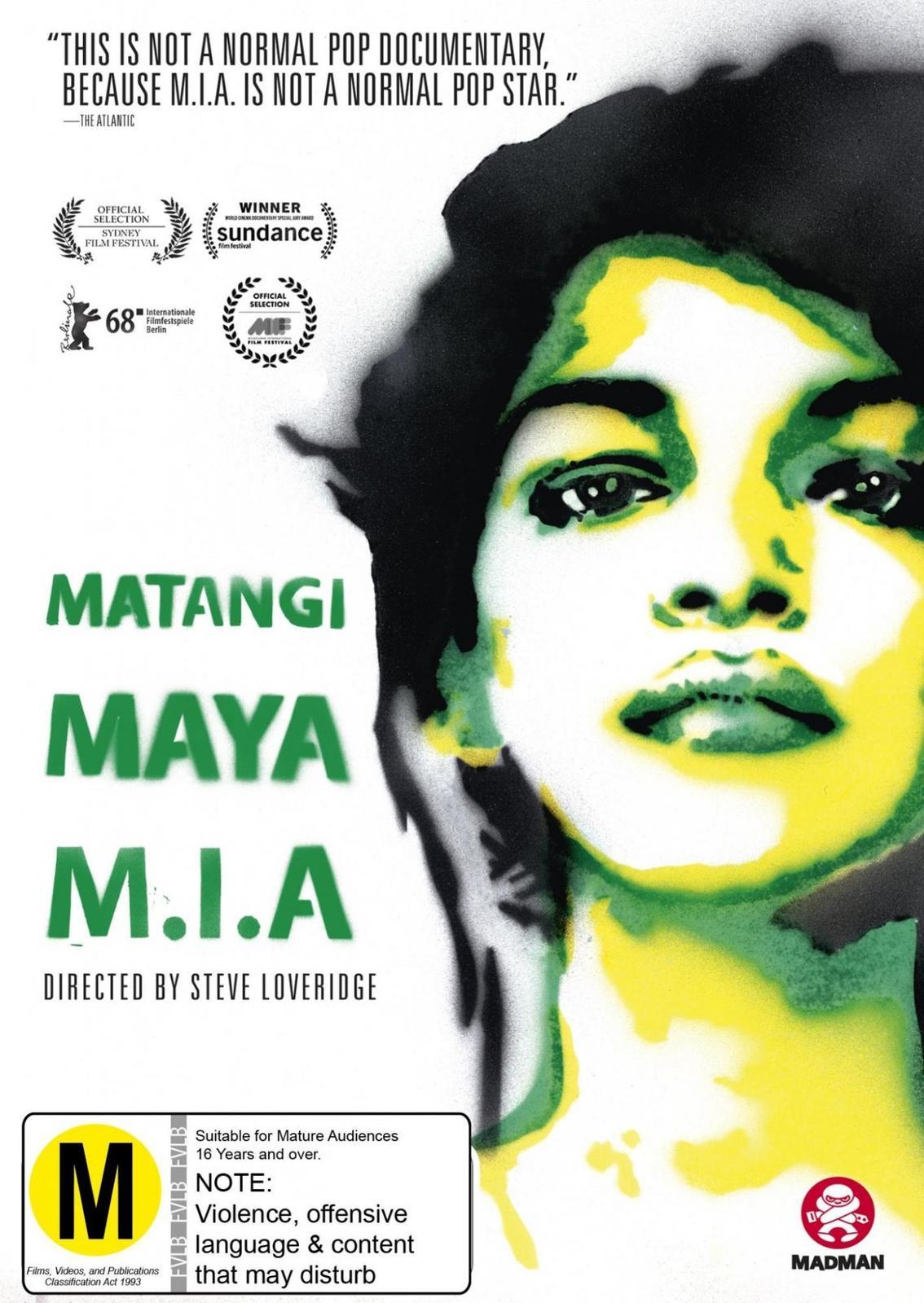 Matangi/Maya/M.I.A on DVD image