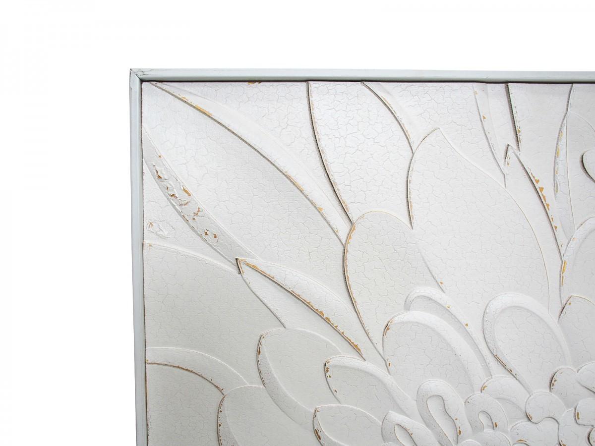 LaVida: Square Wall Art - Petal Carve image