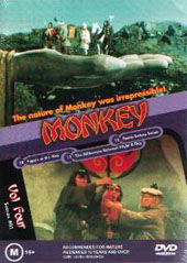 Monkey - Vol 4 on DVD