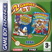 Sonic Pinball Party + Columns (Double Pack) for GBA