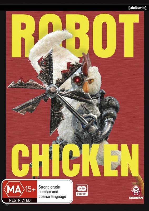 Robot Chicken - Season 5 on DVD