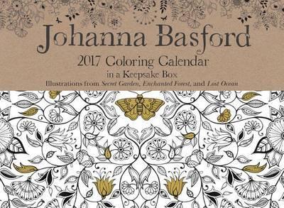 johanna basford 2017 coloring day to day calendar by johanna basford