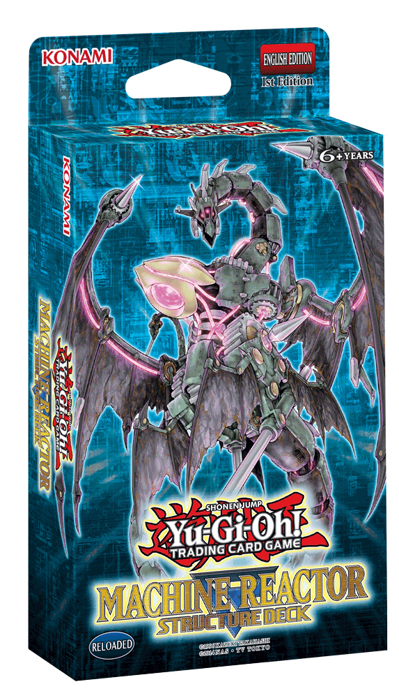 Yu-Gi-Oh! Machine Reactor Structure Deck image