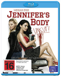 Jennifer's Body on Blu-ray