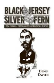 Black Jersey - Silver Fern Tom Ellison by Denis Dwyer