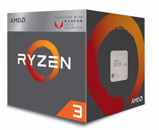 AMD Ryzen 3 2200G AM4 Vega Graphics CPU