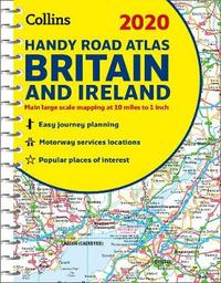 2020 Collins Handy Road Atlas Britain by Collins Maps image