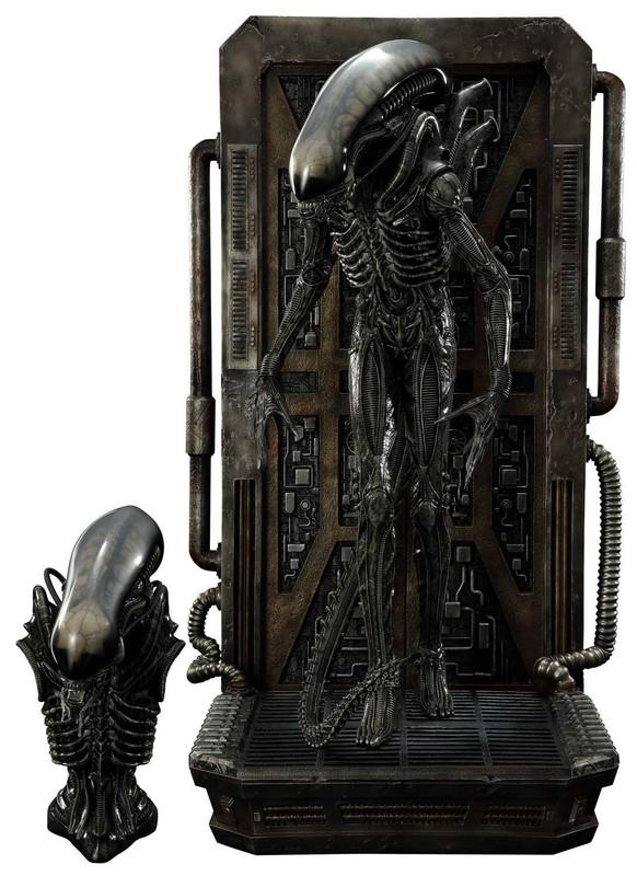 """Alien: Big Chap (Deluxe Ver.) - 35"""" 3D Wall Art"""